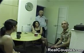 xxx video Real Couples 4some