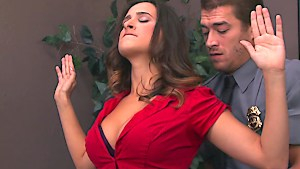 Ashley Adams gets banged by two cops